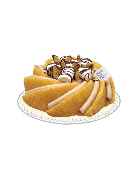 S'mores Volcano Cake