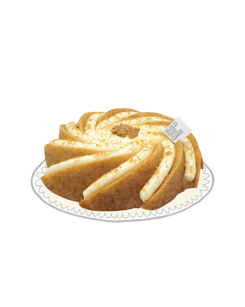 Speculaas Volcano Cake