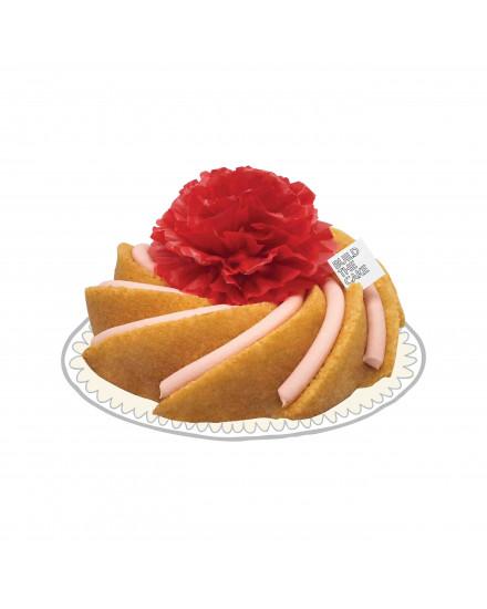 Strawberry Cream Cheese Volcano Cake