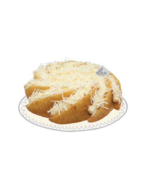 Triple Cheese Volcano Cake