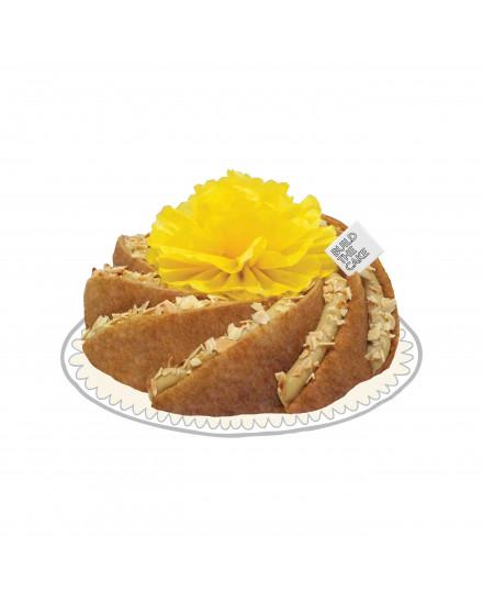 Light Volcano Cake