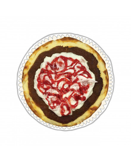 Strawberry Sundae Basque Cheese Cake