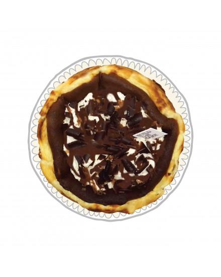 Chocolate Sundae Basque Cheese Cake