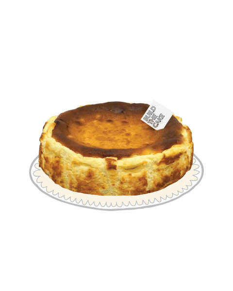 Original Keto Basque Cheese Cake