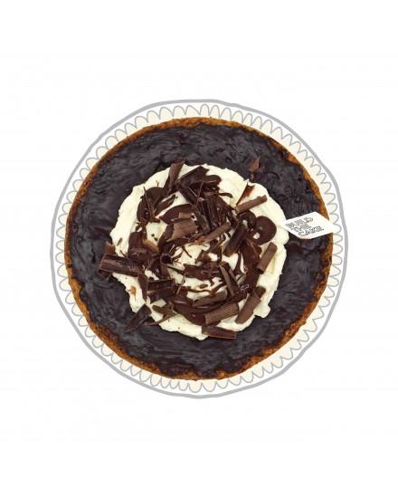 Chocolate Sundae Basque Chocolate Cake