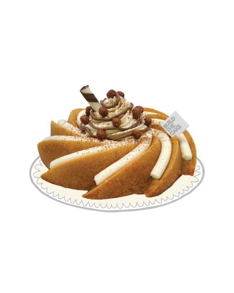 Cappucino Volcano Cake