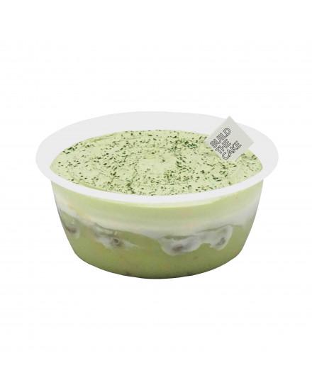 Green Tea Pudding Cake