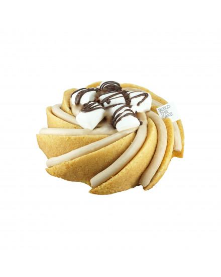 Gluten Free Smores Volcano Cake