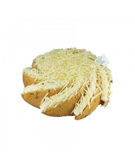 Gluten Free Triple Cheese Volcano Cake