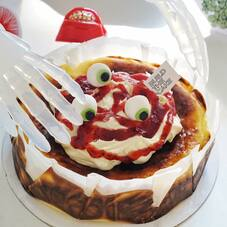 Special Halloween untuk Strawberry Sundae #basquecheesecakebtc .  Order now or you will get trick 👻. Happy weekend #BTCLover , stay Happy and Safe.  Xoxo, BTC Team  #buildthecake_id