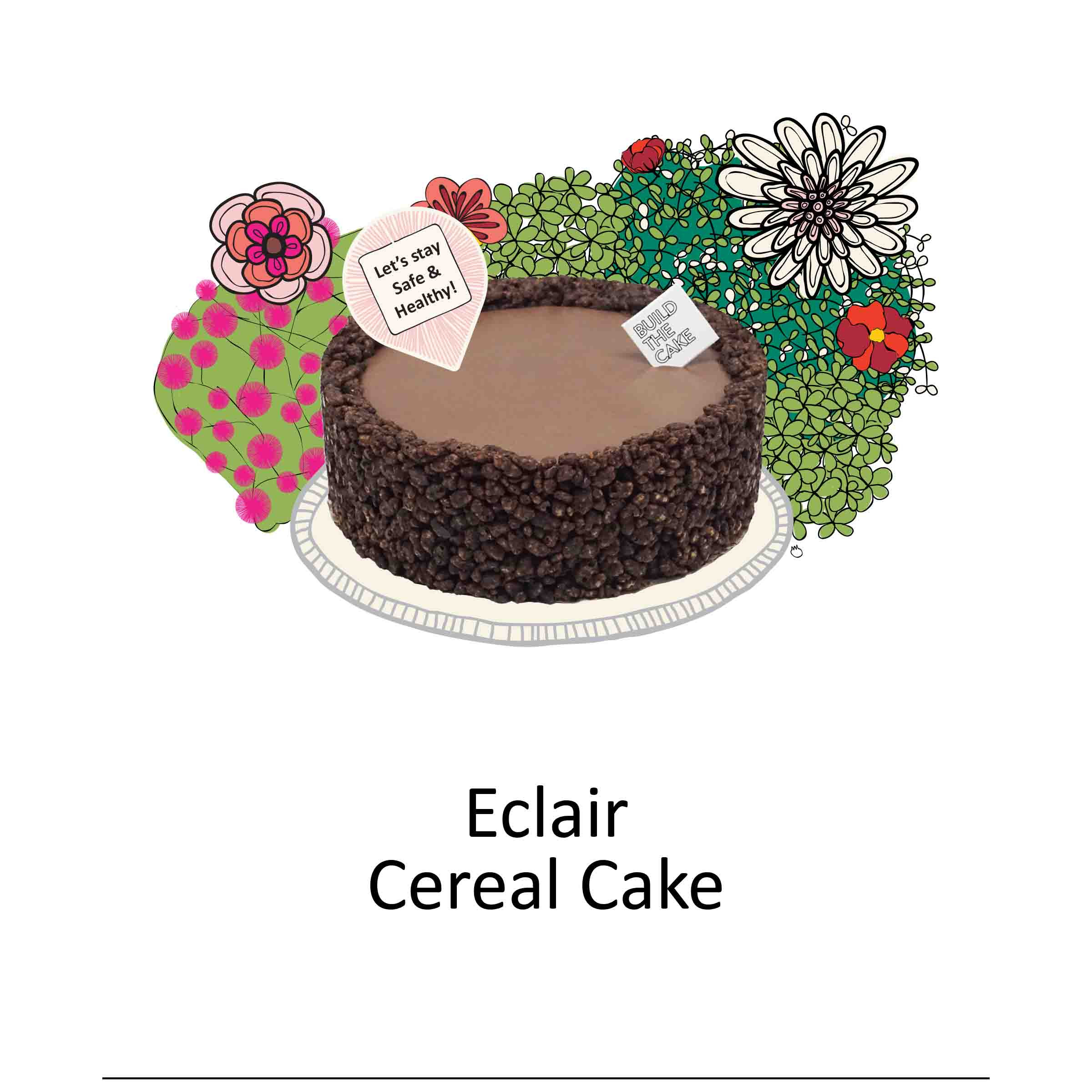 Eclair Cereal Cake