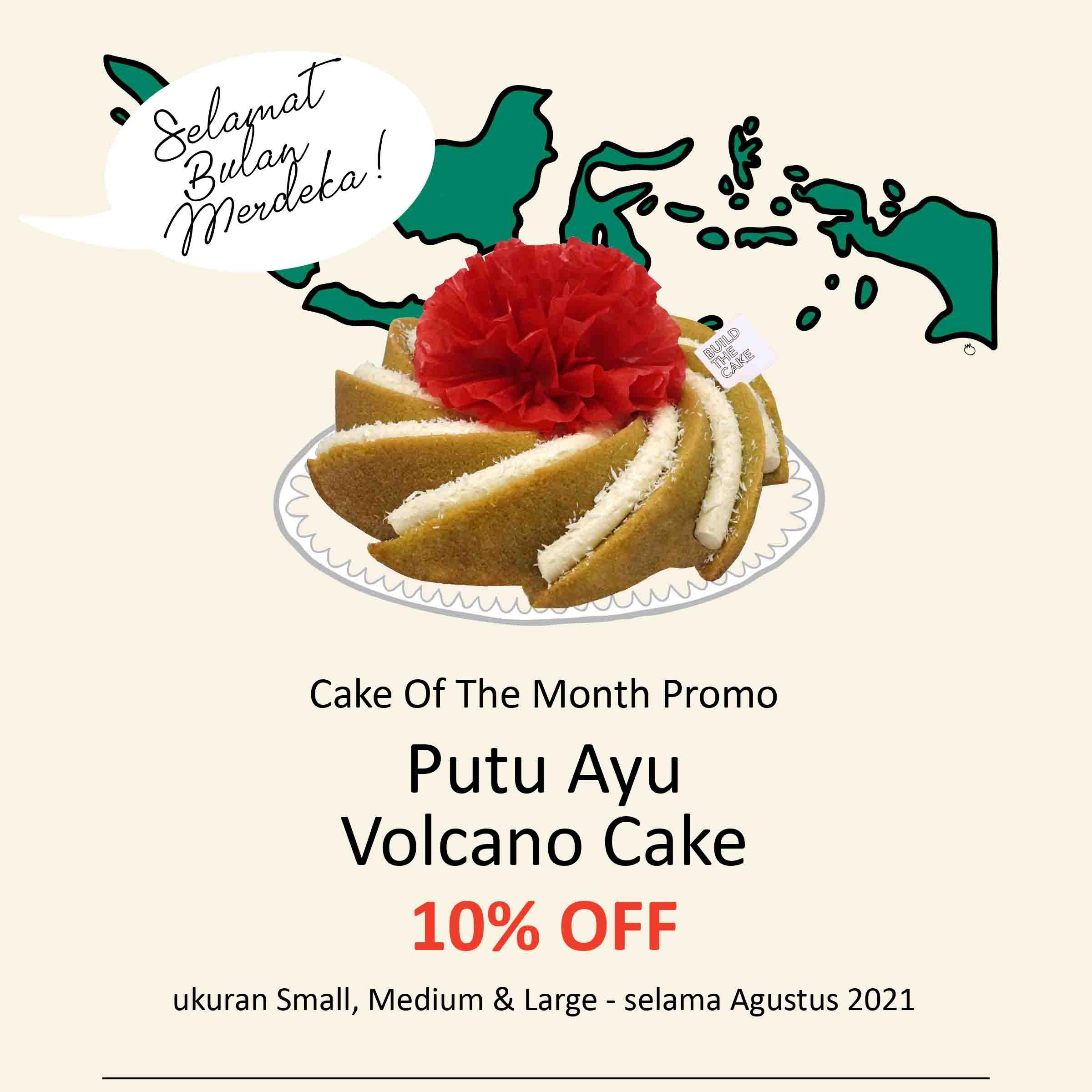 Putu Ayu Volcano Cake