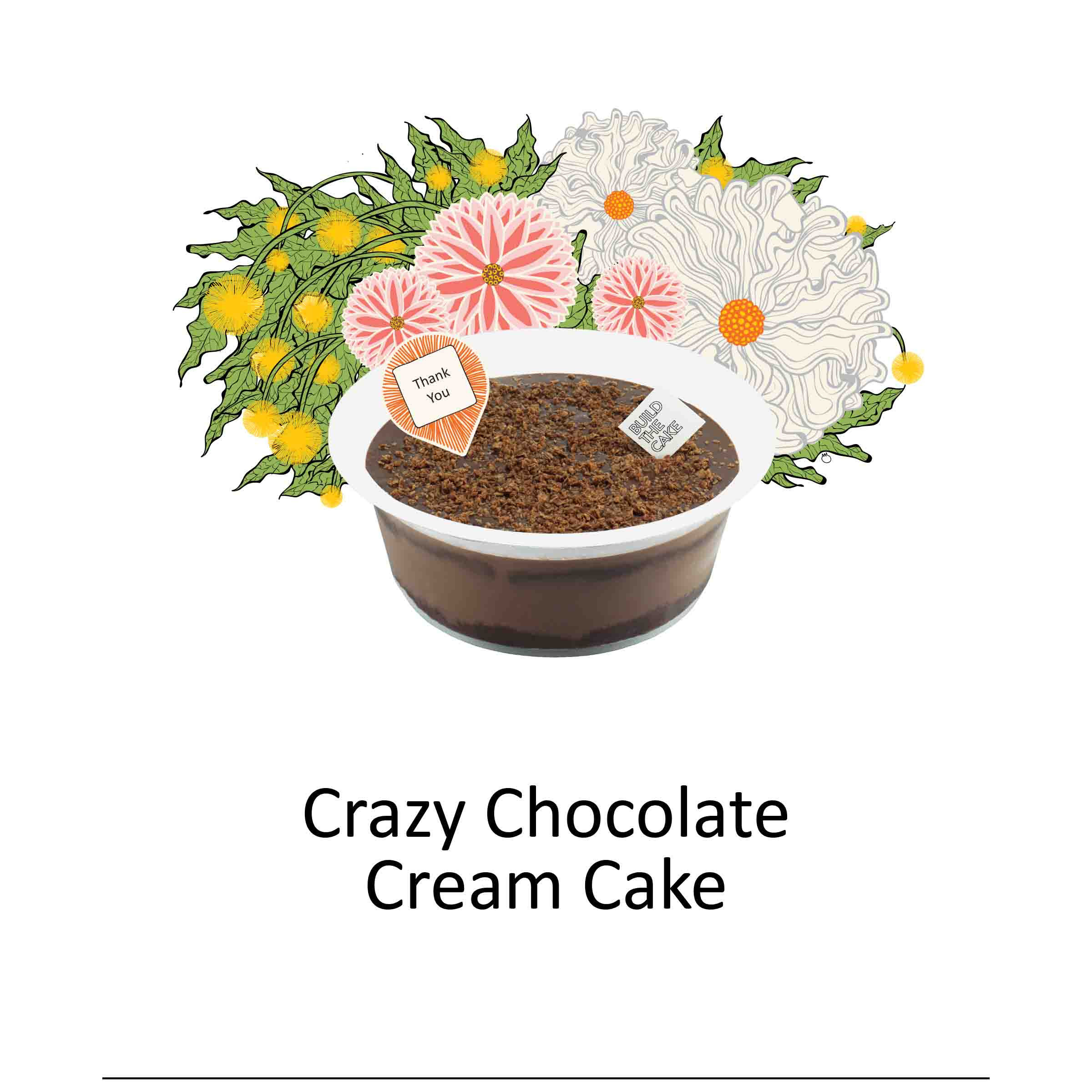 Crazy Chocolate Cream Cake